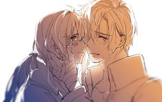#Violet #Evergarden & #Gilbert #Bougainvillea illustrated by 「AMU」 on Pixiv. Do not take off the name of the artist from the description, please.