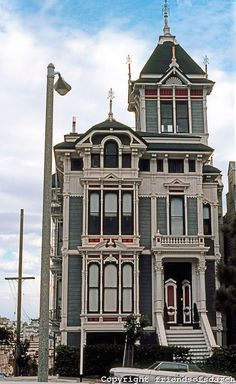 1198 Fulton St, the William Westerfeld House, with an older paint design.