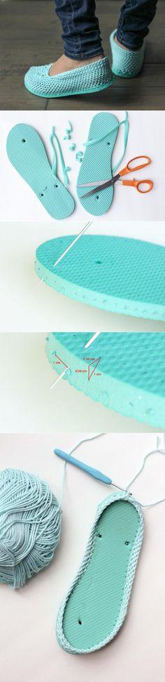 Zapatillas con suela
