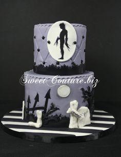 Gateau Tim Burton cake