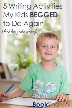 5 Writing Activities My Kids Begged to Do Again • And they hate writing! • homeschool activities