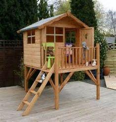 outdoor play forts @Erika Burke Herron