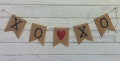 Valentines Day Burlap Banners! | Jane