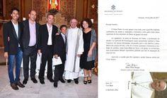 "Brazilian Homo Couple flaunts Vatican Letter for Baptism of ""Their"" Children  http://novusordowatch.org/2017/08/homo-couple-flaunts-vatican-letter/"