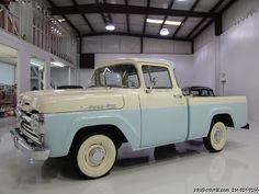 DANIEL SCHMITT & CO CLASSIC CAR GALLERY PRESENTS: 1960 FORD F100 �BIG WINDOW� SHORT-BED STYLESIDE