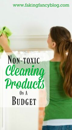 So happy I found some affordable, non-toxic cleaning products to keep my home and family healthy!