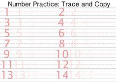 Printable Letter And Number Tracing Worksheets Handwriting Sheets, Number Tracing, Tracing Worksheets, Printable Letters, Numbers, Kindergarten, Lettering, Kindergartens, Drawing Letters