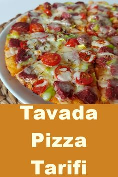 Tavada Pizza Tarifi – sağlıklı yemekler – The Most Practical and Easy Recipes Pizza Recipes, Lunch Recipes, Soup Recipes, Cooking Recipes, Cheap Meals, Easy Meals, A Food, Food And Drink, Healthy Comfort Food