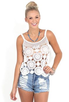 Free crocheted top pattern