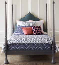 Joel Bray's Summer Bedding Ideas | House & Home | John Robshaw Bedding