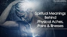 Everything on the Physical plane is a manifestation of something on the Metaphysical plane. The signs and symptoms that are apparent on the Physical plane lead us to inquire, ultimately, more deeply into ourselves as energetic and spiritual beings. More
