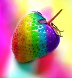 Phsychadelic Strawberry by *lovelife99
