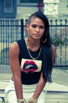 Swag Style, Swag Outfits, Mode Outfits, Best Swag, Cassie Ventura, Style Feminin, Outfit Trends, Girl Swag, Hair Photo