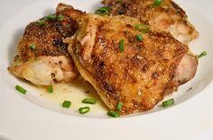 Sticky Garlic and Brown Sugar Chicken Thighs Recipe on Yummly. @yummly #recipe
