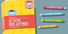 Test des applications enfants pour apprendre (lire, écrire, compter...)App-Enfant.fr | Page 2 Montessori, Homeschool, Ipad, Kids, Mom, Learning To Write, Best Apps, Children, Boys