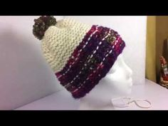 Adding Vertical Stitches: Loom Knitting Malinda Hat This video goes with my Loom knit Plaid Hat Pattern on Etsy. The Pattern is called The Malinda Hat. This video is helpful for anyone knitting a plaid pattern. You can find this pattern on… source Loom Yarn, Loom Knit Hat, Knitted Hats, Knit Crochet, Loom Knitting Patterns, Knitting Videos, Knitting Yarn, Knitting Supplies, Yarn Projects