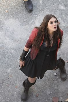 Elizabeth Olsen... Scarlet Witch First look! Avengers: Age of Ultron