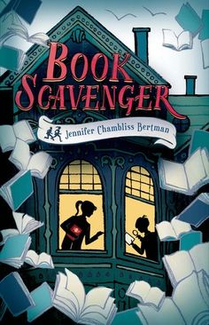 Book Scavenger (The Book Scavenger series) by Jennifer Chambliss Bertman. Available in Kindle, Paperback, Hardcover and Audiobook! Books to read in your teens Good Books, Books To Read, My Books, Hidden Book, Middle School Books, Best Mysteries, Cozy Mysteries, Thing 1, Mystery Books