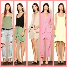 elizabeth & james summer 2014 | Elizabeth and James Spring/Summer 2014 collection at Mercedes Benz