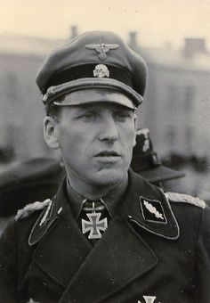 "SS Standartenführer Johannes-Rudolf MÜHLENKAMP (9 October 1910 – 23 September 1986) Knight's Cross on 3 September 1942 as SS-Sturmbannführer and commander of the SS-Panzer-Abteilung 5 ""Wiking""; 596th Oak Leaves on 21 September 1944 as SS-Standartenführer and division leader of the 5. SS-Panzer-Division ""Wiking"""