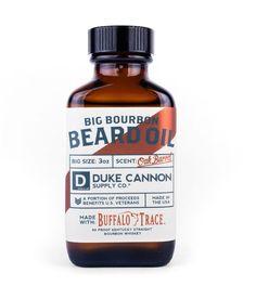 Duke Cannon Big Bourbon Beard Oil - Men's Grooming in Oak Barrel Beard Oil Ingredients, Bourbon Kentucky, Best Beard Oil, Buffalo Trace, Beard Tips, Oils For Men, Bourbon Barrel, Beard Lover, Beard Care