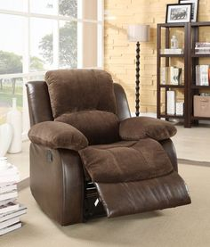 Home Elegance Cranley Collectionn Power Reclining Chair 9700FCP-1PW