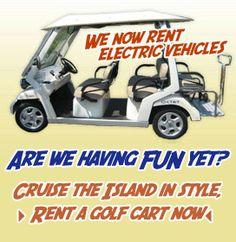 we rent golf carts