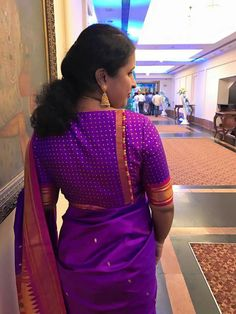 blouse designs 55 Trendy blouse back neck designs with borders for sarees Blouse Designs High Neck, Simple Blouse Designs, Stylish Blouse Design, Designer Blouse Patterns, Fancy Blouse Designs, Patch Work Blouse Designs, Kurta Designs, Saris, Traditional Blouse Designs