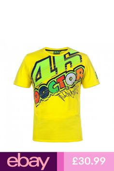 Official Valentino Rossi VR46 The Doctor Yellow TShirt - VRMTS 261801 597a245a9a12