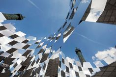"""RING-2012Mirrored cubes installation. FIAC PARIS Location: Place Vendôme, Paris.- Dimensions: H4500 x L5000mm ………………………………………………………………. Commissioned by AUDI & FIAC BEST DESIGN INSTALLATION, WALLPAPER. ……………………………………………………………….   """"Ring"""" is an installation which takes into consideration the urban space networking: the rhythm, flow, organization and spatial hierarchy. The installation embodies a visual effect that is to connect all of these interactions through the implementation of an…"""