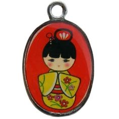 Hanger (bedel) ovaal Geisha