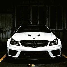 Always bet on black.  #Mercedes #Benz #C63AMG #C63 #AMG #BlackSeries #instacar #carsofinstagram #germancars #luxury