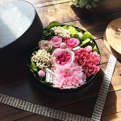 〜✿花束のかわりにフラワーBOXの贈り物♪〜