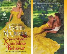 The Spinister's Guide to Scandalous Behavior by Jennifer McQuiston