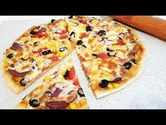 Hawaiian Pizza, Vegetable Pizza, Restaurant, Vegetables, Cooking, Youtube, Food, Home, Kitchen