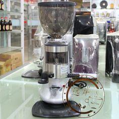 Quixtar commercial professional espresso coffee grinder grinding machine red black silver three-color espresso machine