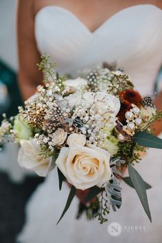 gorgeous wedding bouquet just made for the bride.