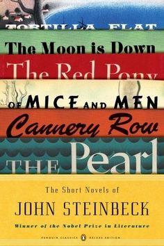 my favorite author:  John Steinbeck