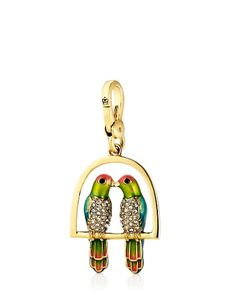 Juicy Couture | Kissing Birds Charm