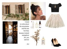 """""""La vie en rose"""" by me1ody ❤ liked on Polyvore featuring Alice + Olivia, Nam Cho, Liliana, Smith & Cult, A Weathered Penny, Maison Margiela, Summer, artexpression and aesthetic"""
