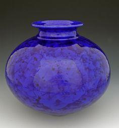 campbell pottery - Google Search Pottery Ideas, Pottery Art, Porcelain Ceramics, Ceramic Art, Bill Campbell Pottery, Ceramic Sculptures, Nice Things, Cobalt Blue, Art Forms