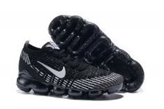 260d00ce03 Nike Air Vapormax Flyknit 2019 Black Grey White Men's Running Shoes  #SE008755