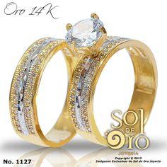 Dúo de boda en oro 14k RD$25,000 httpsoldeorojoyeria.com