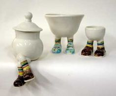 Walking Ware 2007 Rainbow Teaset