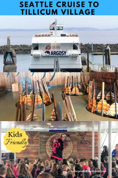 Take Seattle Argosy Cruise to Kid-Friendly Tillicum Excursion - Travel and Hike with PCOS