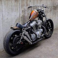 Sportster Chopper, Hd Sportster, Harley Davidson Sportster, Custom Motorcycles, Custom Bikes, Cars And Motorcycles, Easy Rider, Cool Bikes, Motorbikes