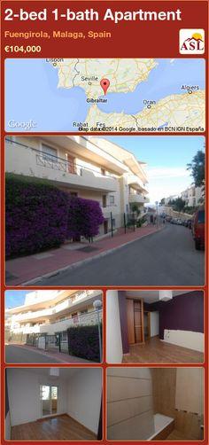 2-bed 1-bath Apartment in Fuengirola, Malaga, Spain ►€104,000 #PropertyForSaleInSpain