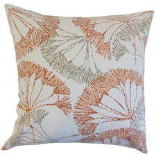 The Pillow Collection Ickitt Geometric Bedding Sham Gray European//26 x 26