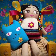 ¡Ve todas nuestras muñecas hechas artesanalmente por manos mexicanas en nuestra tienda en línea! https://www.etsy.com/shop/mayeb