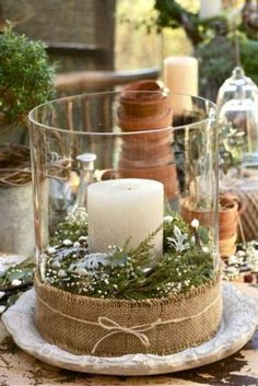 Christmas Decoration with natural materials | Decorazilla Design Blog